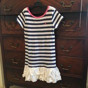 Ralph Lauren girls tee shirt dress